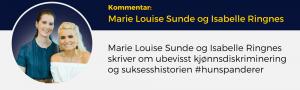Isabelle Ringnes, Marie Louise Sunde, Lederblikk