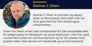 Steinar J. Olsen, Lederblikk