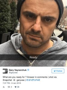 Gary Vaynerchuk, Tweet