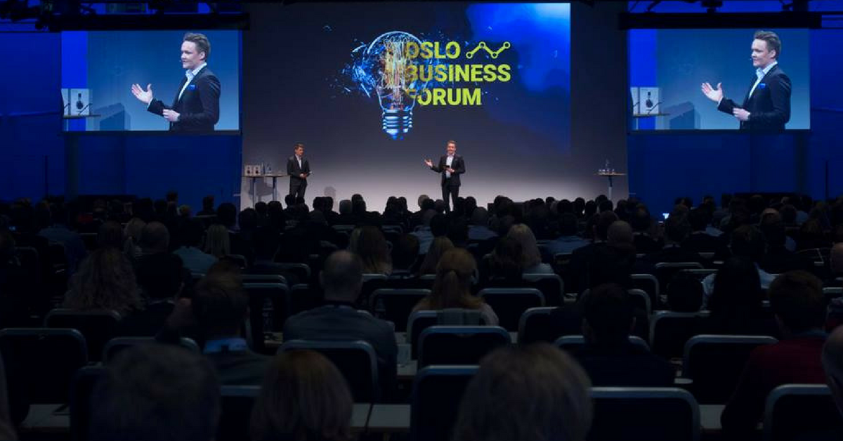 Oslo Business Forum 2. November