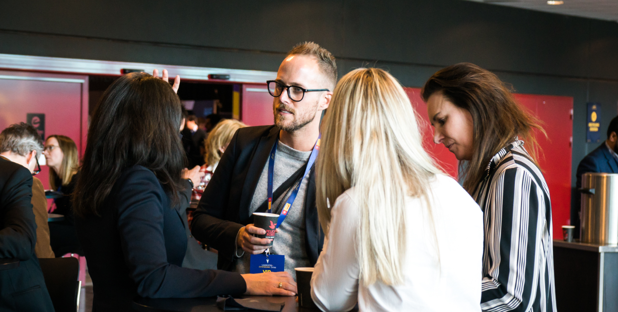 Expand your network at our next conference